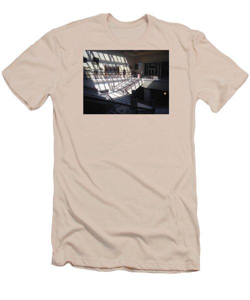Chicago Art Institude Men's T-Shirt (Slim Fit) by Paul Meinerth