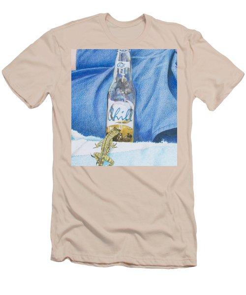 Chill Men's T-Shirt (Slim Fit) by Constance DRESCHER