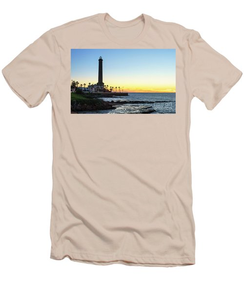 Chipiona Lighthouse Cadiz Spain Men's T-Shirt (Athletic Fit)
