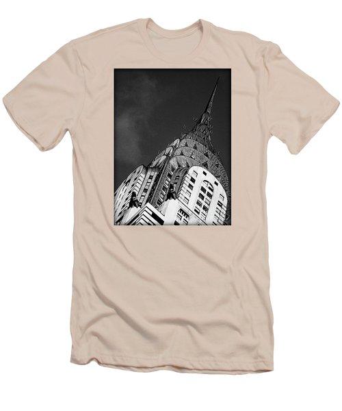Chrysler Building's Apex Men's T-Shirt (Slim Fit) by James Aiken