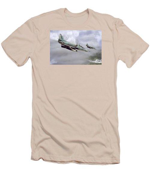 Chu Lai Skyhawks Men's T-Shirt (Athletic Fit)