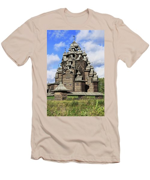Church Of The Intercession Of The Blessed Virgin Mary, A Unique Monument Of Church Architecture Of A Men's T-Shirt (Athletic Fit)