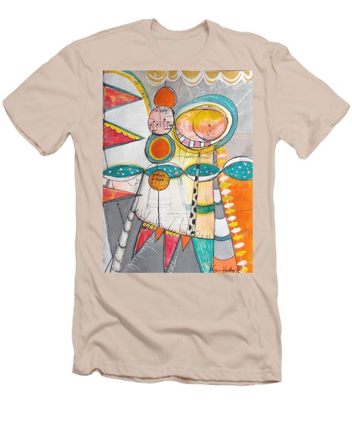 Circus One Men's T-Shirt (Slim Fit) by Karin Husty