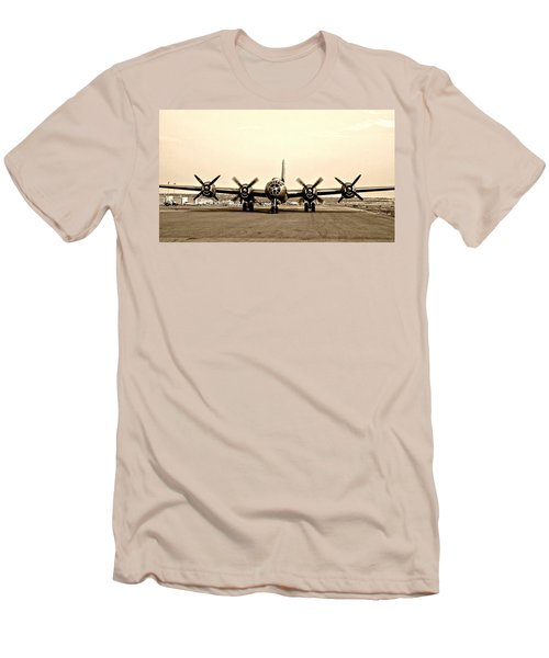Classic B-29 Bomber Aircraft Men's T-Shirt (Athletic Fit)