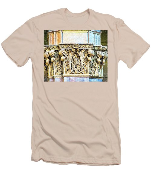 Men's T-Shirt (Slim Fit) featuring the digital art Classic by Wendy J St Christopher