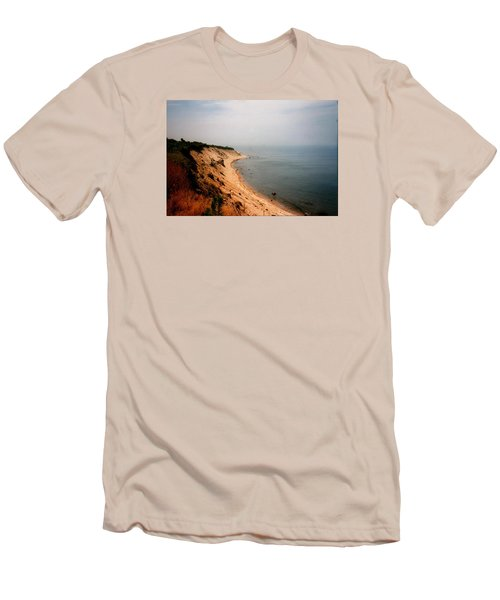 Cliffs Of Block Island Men's T-Shirt (Athletic Fit)