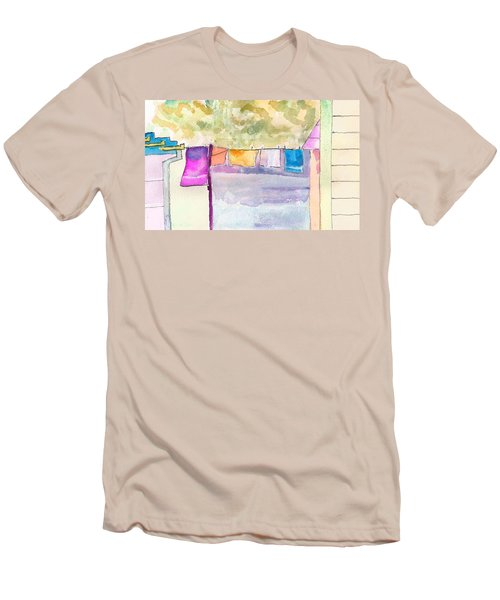 Clothes On The Line Men's T-Shirt (Athletic Fit)