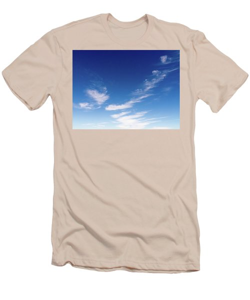 Cloud Sculpting Men's T-Shirt (Athletic Fit)