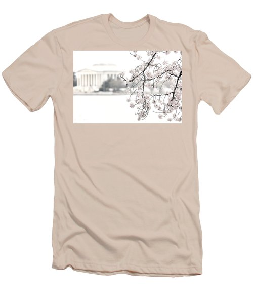 Cloudy With A Chance Of Tourists Men's T-Shirt (Athletic Fit)