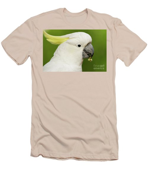 Cockatoo Close Up Men's T-Shirt (Athletic Fit)