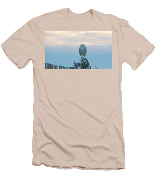 Cold Morning Light Men's T-Shirt (Slim Fit) by Stephen Flint