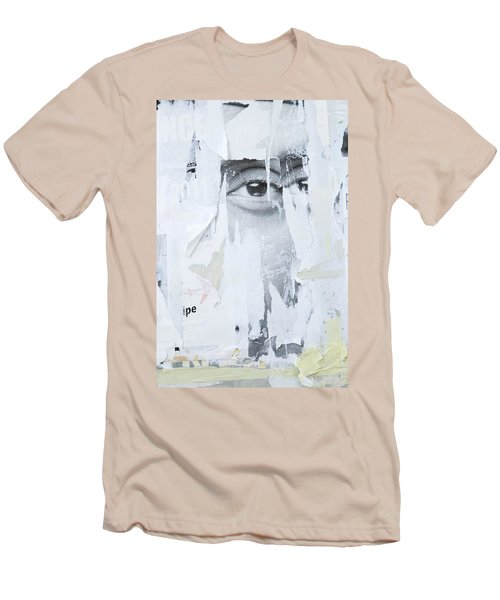 Street Collage 2 Men's T-Shirt (Slim Fit) by Colleen Williams