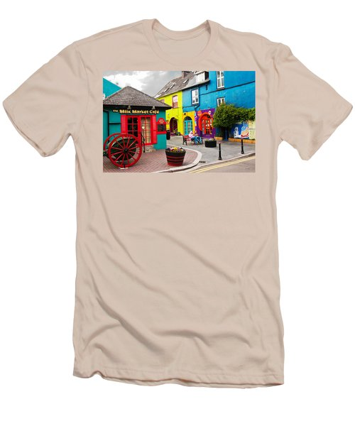 Colorful Corner Men's T-Shirt (Athletic Fit)