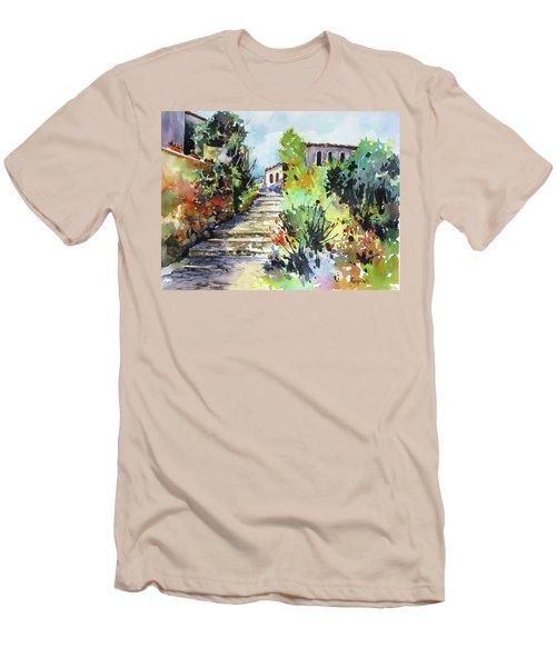 Colors Of Spain Men's T-Shirt (Slim Fit) by Rae Andrews