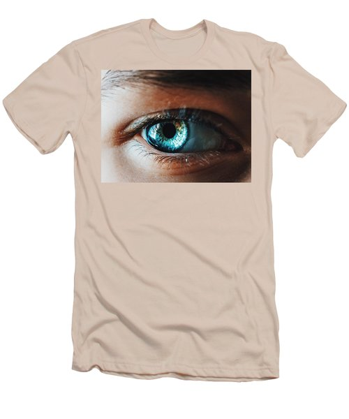 Men's T-Shirt (Slim Fit) featuring the photograph Colors by Parker Cunningham