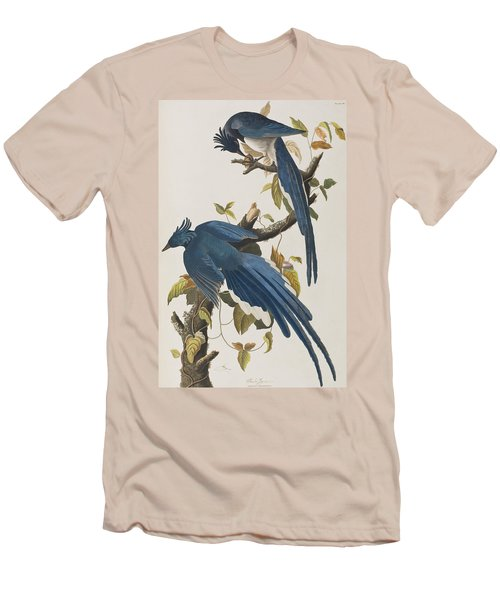 Columbia Jay Men's T-Shirt (Slim Fit) by John James Audubon