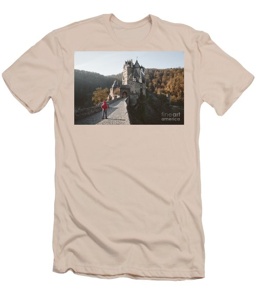 Coming Home Men's T-Shirt (Slim Fit) by JR Photography