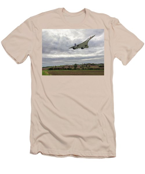 Concorde - High Speed Pass Men's T-Shirt (Slim Fit) by Paul Gulliver