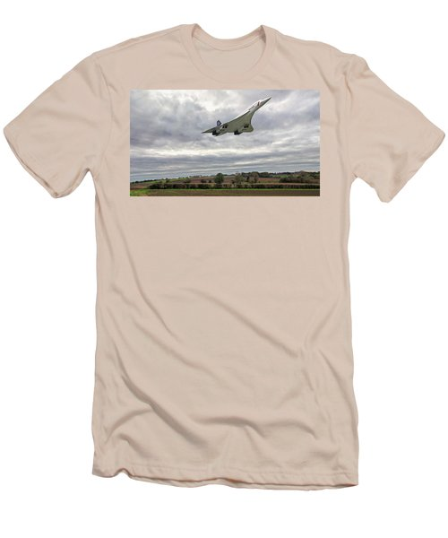 Concorde - High Speed Pass_2 Men's T-Shirt (Slim Fit) by Paul Gulliver