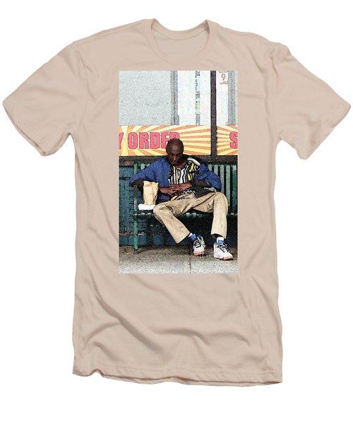 Cool Snap Men's T-Shirt (Slim Fit) by Joe Jake Pratt