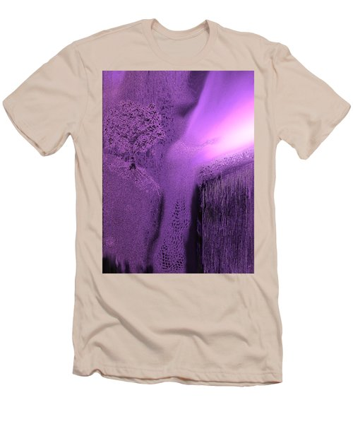 Purple Sky Dance Men's T-Shirt (Athletic Fit)