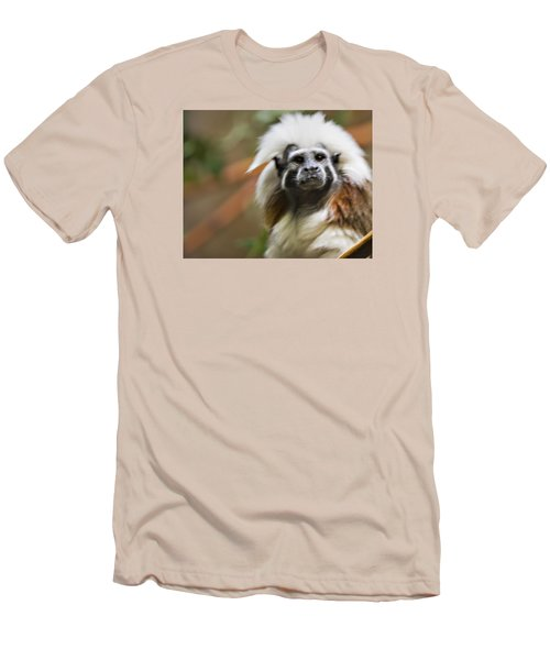 Cotton-top Tamarin _ 1a Men's T-Shirt (Athletic Fit)