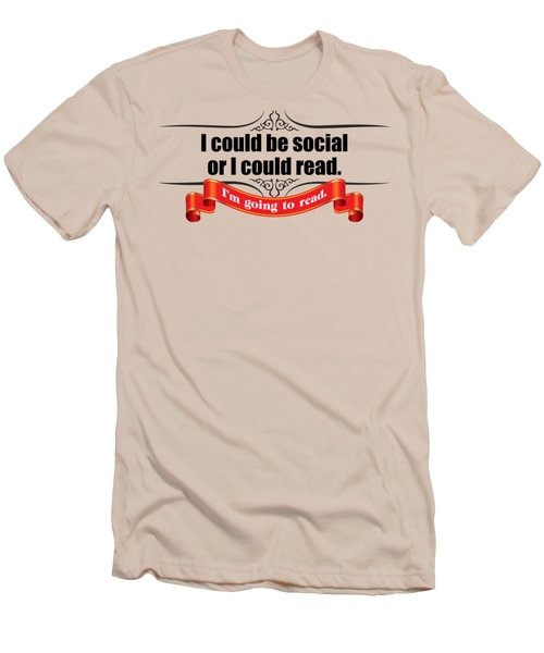 Could Be Social Men's T-Shirt (Athletic Fit)