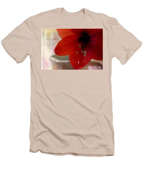 Men's T-Shirt (Slim Fit) featuring the photograph Count Your Blessings by Robin Dickinson