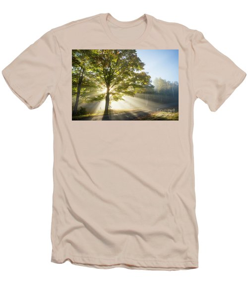 Country Road Men's T-Shirt (Slim Fit) by Alana Ranney