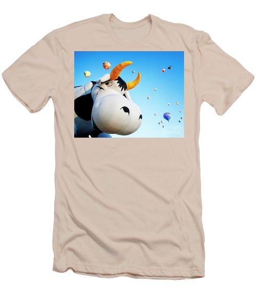Cowabunga Men's T-Shirt (Athletic Fit)