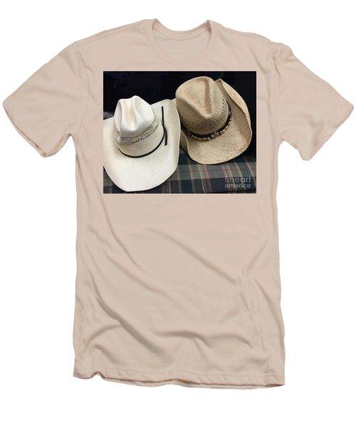 Cowboy Hats Men's T-Shirt (Slim Fit) by Renie Rutten