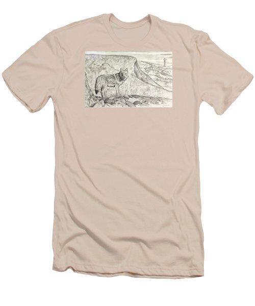 Coyote Men's T-Shirt (Athletic Fit)