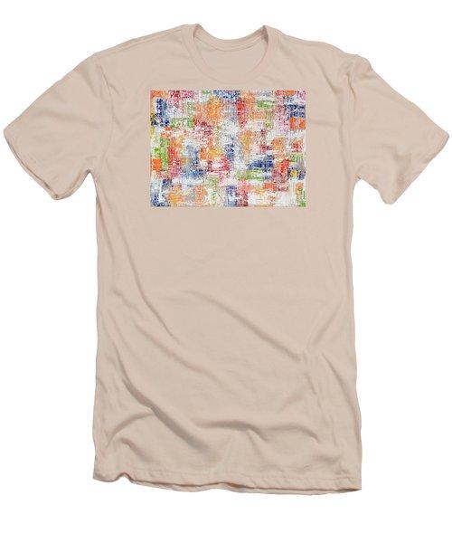 Criss Cross Men's T-Shirt (Slim Fit)