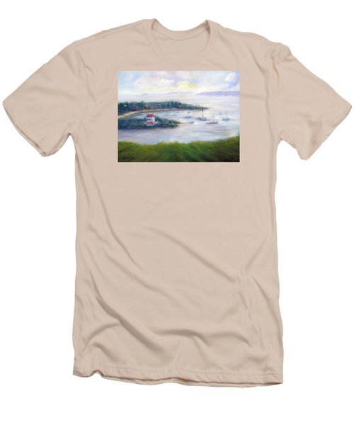 Cruz Bay Remembered Men's T-Shirt (Athletic Fit)