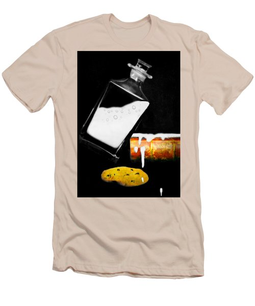 Men's T-Shirt (Slim Fit) featuring the photograph Crying Over Spilled Milk by Diana Angstadt