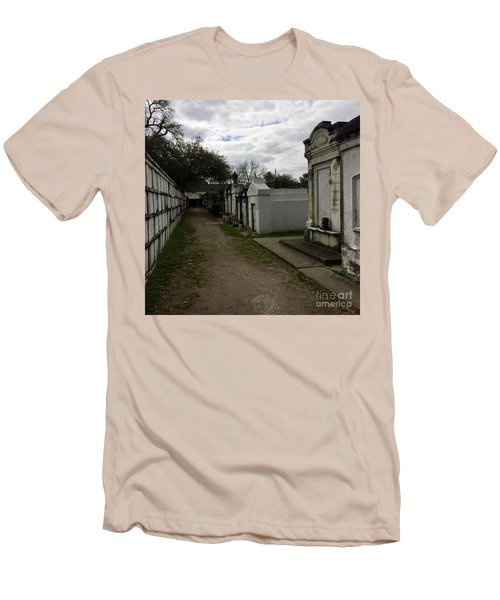 Men's T-Shirt (Slim Fit) featuring the photograph Crypts by Kim Nelson