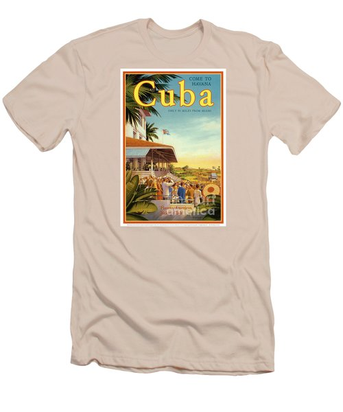 Cuba-come To Havana Men's T-Shirt (Athletic Fit)