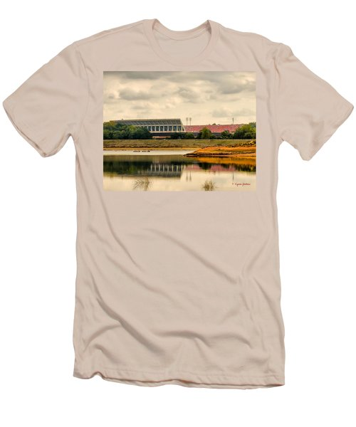 Men's T-Shirt (Slim Fit) featuring the photograph Dabo's First Game by Lynne Jenkins