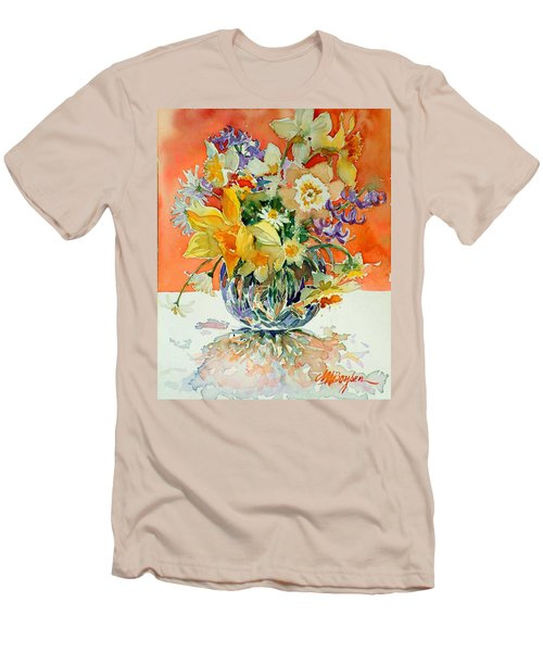 Daffs And Daisies Men's T-Shirt (Athletic Fit)