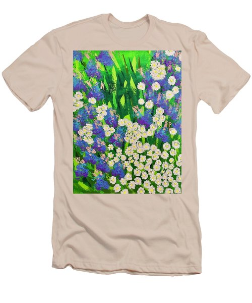 Daisy And Glads Men's T-Shirt (Slim Fit) by George Riney