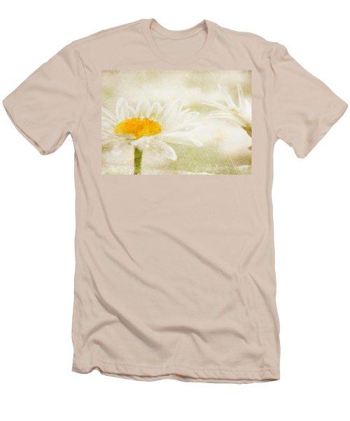 Daisy Men's T-Shirt (Slim Fit) by Catherine Alfidi