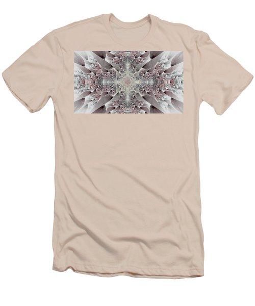 Damask Men's T-Shirt (Slim Fit) by Lea Wiggins