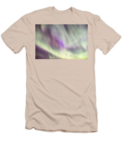 Men's T-Shirt (Slim Fit) featuring the photograph Dancing With The Stars by Larry Ricker