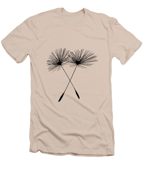 Dandelion Duo  Men's T-Shirt (Athletic Fit)