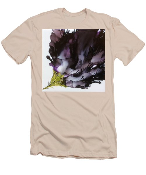 Men's T-Shirt (Slim Fit) featuring the painting Dark Beauty by Pat Purdy