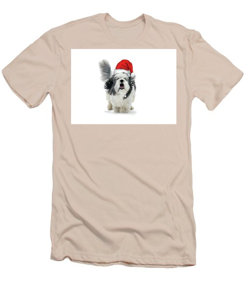 Dashing Through The Snow Men's T-Shirt (Slim Fit) by Keith Armstrong