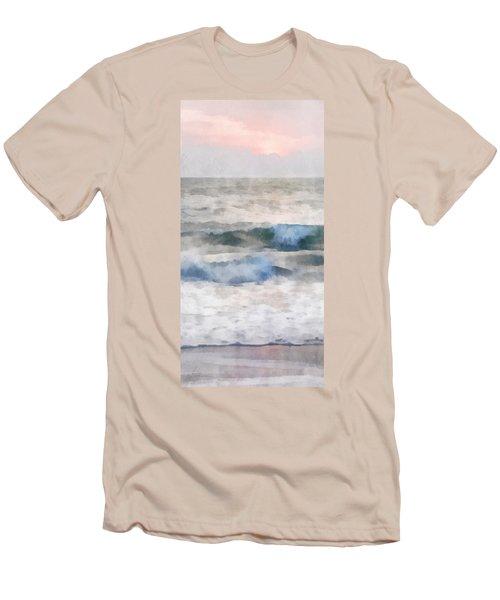 Dawn Beach Men's T-Shirt (Slim Fit) by Francesa Miller
