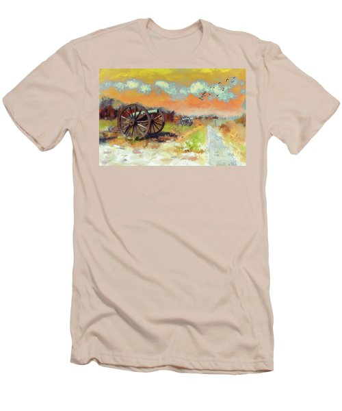 Men's T-Shirt (Slim Fit) featuring the photograph Days Of Discontent by Lois Bryan