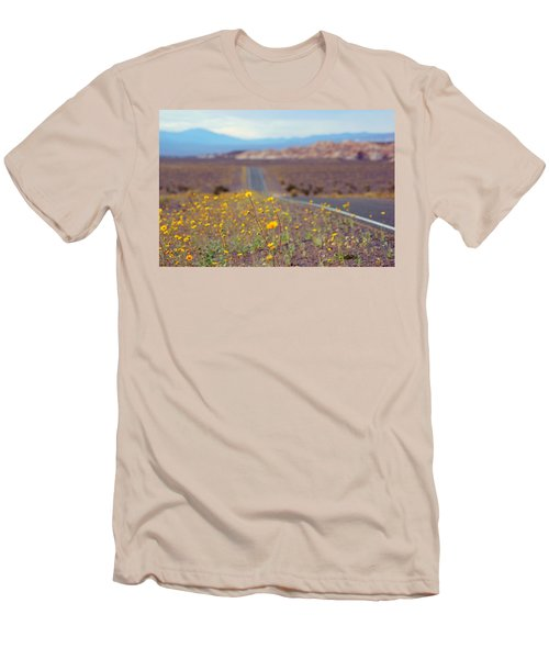 Death Valley Superbloom 101 Men's T-Shirt (Slim Fit) by Daniel Woodrum
