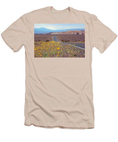 Death Valley Superbloom 101 Men's T-Shirt (Athletic Fit)